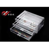 Buy cheap 3 Layers Clear Plastic Display Cases from wholesalers