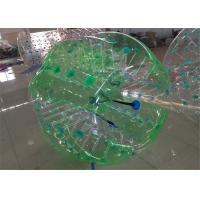 Buy cheap 170cm Giant Human Hamster Ball , Yellow Human Bouncy Ball for Sport Game from wholesalers