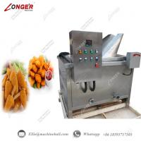 Buy cheap Meat Frying Machine Chicken Frying Machine Round Port Commercial Frying Equipment Chicken Continuous Fryer from wholesalers