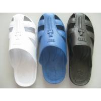 Home Anti Static Shoes Comfortable Durable Safety ESD Six Hole SPU Slippers