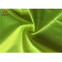 Buy cheap Fluorescent Colour Shiny Dazzle Fabric , Polyester Knit Fabric Custom Size from wholesalers