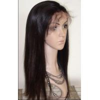 Buy cheap High Quality Hand Tied Indian Hair Lace Frontal Wig With Baby Hair from wholesalers