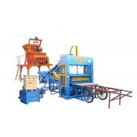 Buy cheap QT7-25 Semi-automatic Concrete Hollow Block Making Machine from wholesalers