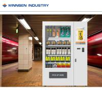 Buy cheap Box Mini Mart Vending Machine , Earphone Vending Machine With Cooling System from wholesalers