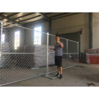 Buy cheap imported china 6 foot x 12foot temporary chain link fence panels from wholesalers