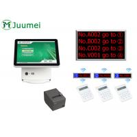 Buy cheap Manual Queue Management System Steel Cabinet With Touch Screen from wholesalers