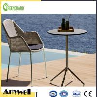 Buy cheap Amywell anti-UV outdoor garden furniture compact hpl laminate table product