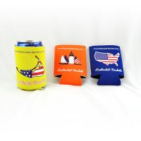 Buy cheap Custom wholesale collapsible foldable neoprene beer cooler can holder size:10cmc*13cm  Material is neoprene from wholesalers