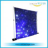 Buy cheap china newest product colorfulled star curtain for wedding /big commercial from wholesalers