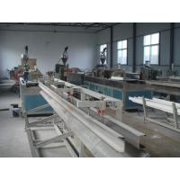 Buy cheap Automatic Wood Plastic Composite Extrusion Line , Two Screw WPC Extruder from wholesalers