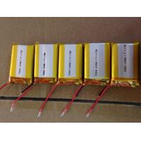 Buy cheap High Discharge Lithium Polymer Battery 1100mAh 3.7V for Digital cameras from wholesalers