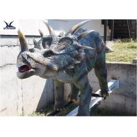 Buy cheap Mechanical Playground Animatronic Life Size Dinosaur Decoration Equipment Model from wholesalers