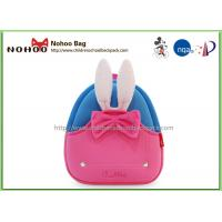 Buy cheap Rabbit Pattern Cute Toddler Backpacks Pink Adjustable Shoulder Straps from wholesalers