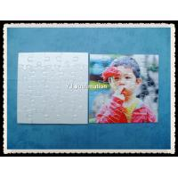 Buy cheap Heat transfer square shape Mini Jigsaw Puzzle from wholesalers