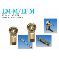 Buy cheap EM - M / EF - M Metric Spherical Rod Ends 2-Piece Metal To Metal For Construction from wholesalers