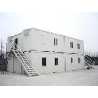 Buy cheap Assembling White Container Modular House For Dormitory And Movable Bathroom from wholesalers