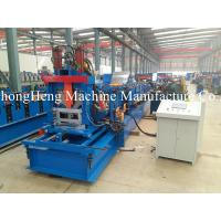 Buy cheap Hydraulic Steel Roll Forming Machine C Purlin GCr15 Roller Frequency Control from wholesalers