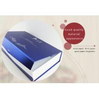 Buy cheap Matte finish luxury design cardboard paper shipping box for packaging shoe,Luxury Metallic Paper Cardboard Cosmetic Box from wholesalers