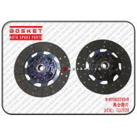 Buy cheap 8-97362235-0 8973622350 Clutch Disc Suitable For Isuzu NPR Parts , Isuzu Accessories from wholesalers
