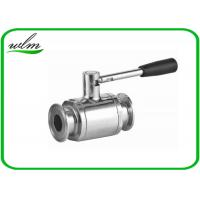 Buy cheap Portable Sanitary Full Port Ball Valve , Stainless Steel Ball Valve For Food Industry Piping System from wholesalers