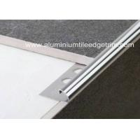 Buy cheap 10mm Stainless Steel Round Edge Tile Trim / Outside Corner Trim Long Durability  from wholesalers
