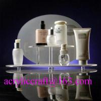 Buy cheap Custom design retail shop table acrylic makeup display stand / cosmetic display rack from wholesalers