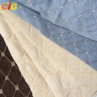 Buy cheap Embroidery Waterproof 	Auto Upholstery Fabric Anti Static For Car Seat product