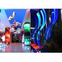 Buy cheap P3.91 Curved Shape Soft Flexible LED Screen Display For Supermarket from wholesalers