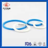 Buy cheap Industrial Flexible  Sanitary Clamp Gaskets 63mm Durable Long Working Life from wholesalers