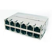 Buy cheap High performance cat 5 6 RJ45 or rj12 shielded electrical  connectors multi ports from wholesalers