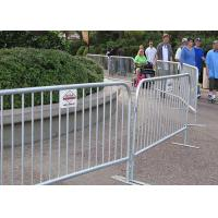 Buy cheap Road Crowd Control Barricades Pedestrian Control Barriers For Construction Site product