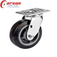 Buy cheap 5 inches Heavy Duty Fixed Caster with Polyurethane Wheel from wholesalers