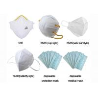 Buy cheap Surgical Earloop Disposable Face Masks Blue 17.3cm*9.5cm 3 Layers Non - Woven from wholesalers