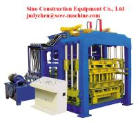 Buy cheap Burn Free Automatic Cement Block Machine from wholesalers