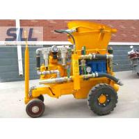 Buy cheap Air Driven Concrete Shotcrete Machine With Rubber Sealing Plate Easy Operation from wholesalers