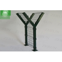 Buy cheap Wire Airport Security Fence 2.0m Y Post Razor Metal Fence Chain Link from wholesalers