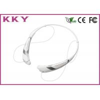Cell Phone Bluetooth 4.0 Headset With FCC / CE / RoHS 5 Hours Play Time