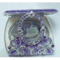Buy cheap Metal Enamelled Pocket Mirror, Compact Mirrors from wholesalers