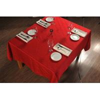 Buy cheap Elegant Plain Pattern Wedding Tablecloths And Chair Covers 100% Polyester Fabric from wholesalers