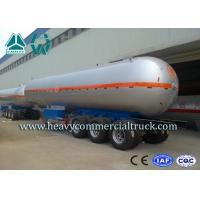 Buy cheap High Performance Tri axle Carben Steel LPG Semi Trailer Tri Axle 40000L from wholesalers
