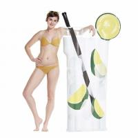 Buy cheap Giant Cocktail Drink Inflatable Swimming Pool Floats / Adult Water Toy from wholesalers