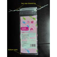 Buy cheap Cotton Swabs Small Drawstring Plastic Bags Transparent Storage Bags from wholesalers
