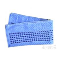 Buy cheap 48*70cmBlue Color Kitchen Tea Towels Quick Dry Waffle Weave from wholesalers