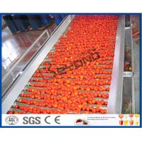Buy cheap Tomato Planting Machine Tomato Processing Line Full / Semi Automatic 2 - 50 T/H from wholesalers