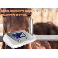 Buy cheap Clinic Horse Shockwave Therapy Machine 1 - 22 Hz Frequency For Suspensory from wholesalers