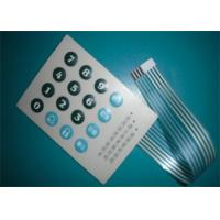 Buy cheap Silicone Telephone Keypad Metal Dome Membrane Switch Panel with 16 Buttons from wholesalers