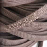 Buy cheap Brown Braided Polyester Rope With PE Rattan Heat Resistant Eco Friendly from wholesalers