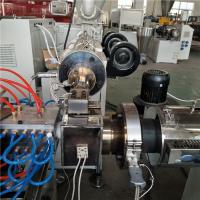 Buy cheap Two Cavity PC LED Tube Production Line Plastic Extrusion Machine Stable Extruding from wholesalers