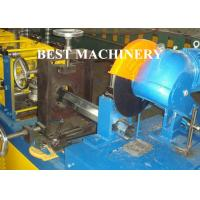 Buy cheap Gavalnized Octangle Tube Rolling Machine Hydraulic Cutting Type For Shutter Door from wholesalers