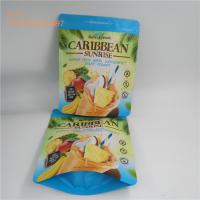Buy cheap Food grade stand up zip lock bag the self standing zipper foil bag for dry fruit and meant from wholesalers